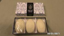 1926M La Florentina ITALY Vanilla Bath Soap 3--5.3 OUNCE BARS NEW in BOX