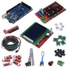 CNC 3D Printer Kit Mega 2560 R3+Controller RAMPS 1.4 +LCD 12864+5 x A4988 Driver