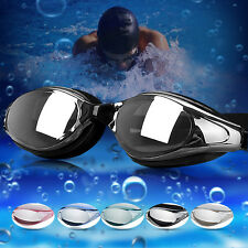 Non Fogging Anti UV Swimming Goggle Glasses Adjustable With Eye Protect Function
