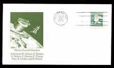 USA 1986 Mission Control Houston Space Cover #C11046