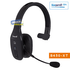 BlueParrott B450-Xt Bluetooth Headsets, Noise Cancellation, 300ft wireless Range