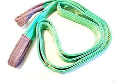 3M x 60mm Lifting / Towing Webbing Sling / Strap 2000Kg Working Load TZ  TD057