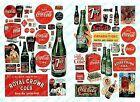 JL INNOVATIVE N 1930-60'S VINTAGE SOFT DRINK POSTERS/SIGNS 72  697