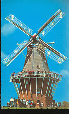 HOLLAND,MICHIGAN-DE ZWAAN WINDMILL-CLOSE UP-(32550C)-(MICH-H)