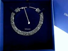 Swarovski Fit Necklace Choker, JETCrystal Authentic MIB 5355185