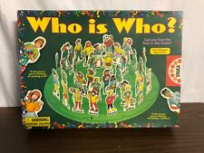 WHO IS WHO? Board Game Ages 4+ *Complete*