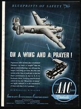 1943 WWII CONSOLIDATED B-24 Liberator AAC Aircraft Accessories WW II WW2 AD