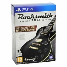 New Playstation 4 Rocksmith 2014 Edition w/ Real Tone Cable PS4 Game Official
