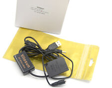 En-El12 usb power charger cable+Ep-62F dummy battery for Nikon S6200 S8100 S9100