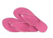 2018 NWOT WOMENS HAVAIANAS YOU METALLIC SANDALS $40 7/8 Shocking Pink thong