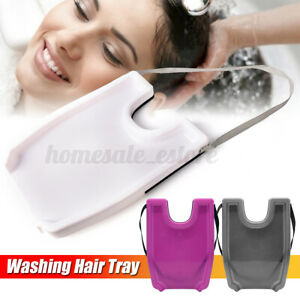 Shampoo Tray Hair Washing Tool Portable Household Shampoo Basin for Pregnant US
