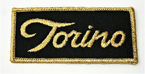 Rare Vintage Ford Torino Muscle Car Cloth Patch New NOS 1960s