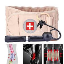 Lumbar Support Decompression Back Brace Pain Lower Beige Lumbar traction belt