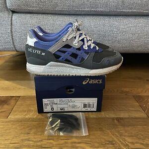 Asics Gel Lyte 3 x Sneaker Freaker Alvin Purple Reissue Sz 8 US - 40.5 EU III