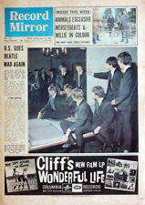 RECORD MIRROR 18 JULY 1964 . THE BEATLES FRONT COVER . NOT NME