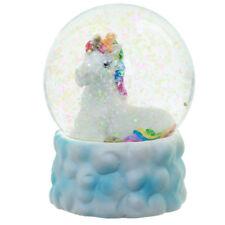 Rainbow Unicorn Cloud Fairy Waterball Glitter Snow Globe Girlfriend Novelty Gift