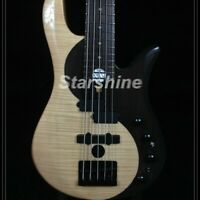 5 Strings Electric Bass Guitar Rosewood with Flamed Maple Top Maple Neck CC5-YY