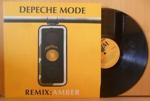 DEPECHE MODE Remix : Amber LP [NEVER PLAYED] MINT DMAMBER001 LTD 100
