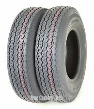 2 WANDA Highway Boat Motorcycle Trailer Tires 4.80-8 4.8x8 6PR Load Range C