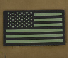 "IR Infrared Reflective Patch NVG ""USA Flag OD"" with VELCRO® brand hook"