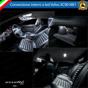 KIT FULL LED INTERNI VOLVO XC90 MK1 CONVERSIONE COMPLETA 6000K NO AVARIA