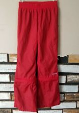 Tommy Hilfiger Girls Vtg Early 2000s Wind Track Pants Zip Off Legs Size 6 Nylon