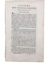 Prise de la Bastille 14 Juillet 1789 Rarissime Journal Révolution Française