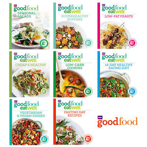 BBC Good Food Book Eat Well Recipe Cooking Books Low Fat Healthy Vegetarian