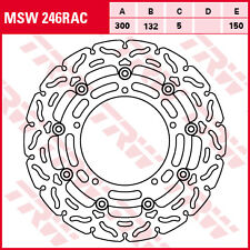 disque frein flottant avant  TRW  MSW 246 RAC YAMAHA MT-03  MT-09  YZF R6