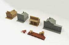 Outland Models Train Railway Layout Old West Small House Set N Scale 1:160
