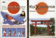 Koi Xperience DVD + All Japan 2007 DVD im Paket! (ca. 80 + 58 min.)