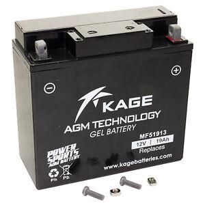 Batterie Gel KAGE 51913 Pour BMW R 1100 GS R 80 K 75 K 100 Ducati Moto Guzzi