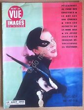 Rivista Magazine 1953 - Point De Vue - Images du Monde - Vivien Leigh - mode