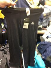 ADIDAS FITNESS TIGHT SIZE  12  UK 3/4  LENGHT AT £10 BNWL BLACK  CLIMALITE