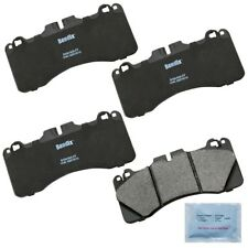 Disc Brake Pad Set-Semi-Metallic Disc Brake Pad Rear Bendix MKD662