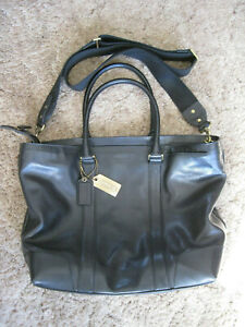 Rare! Coach Bleecker Legacy Leather Extra Large Business Tote Bag 70600