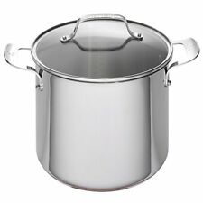 Emeril Lagasse Stainless Steel Copper Core Stock Pot, 8 quart, Silver TAXFREE