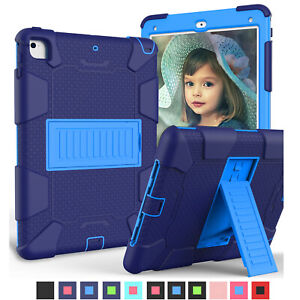 For iPad 6th Gen Air 1 2 Pro 9.7  Shockproof Heavy Duty Hard Case Stand Cover