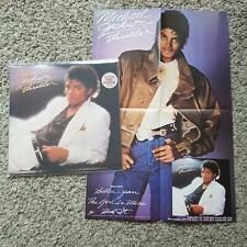 Michael Jackson - Thriller Vinyl LP Australia WITH POSTER