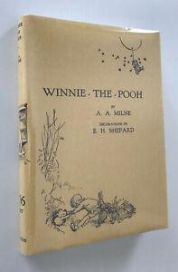 Winnie the Pooh, A.A.Milne, High Quality Semi-Facsimile of 1926 First Edition DJ