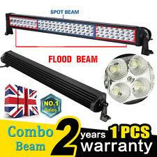 32'' LED Work Light Roof Bar 12V 24V Spot flood Offroad Truck SUV ATV Motor Lamp