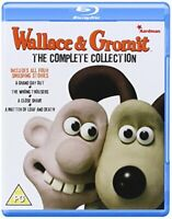 Wallace And Gromit The Complete Collection [Blu-ray] [DVD][Region 2]