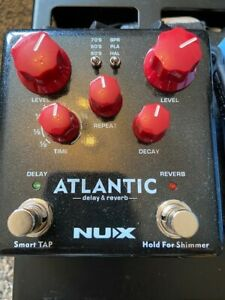 NUX NDR5 ATLANTIC DELAY AND REVERB PEDAL