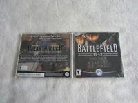 Battlefield 1942:  Secret Weapons of WWII (PC, Jewel Case, 2003)