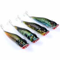 Bass Painting Series Popper Tackle Crankbaits Baits Hook Minnow Fishing Lures