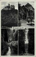 Eisenach Thüringen ~1920/30 Wartburg Luther Brunnen Drachenschlucht Hohe Sonne