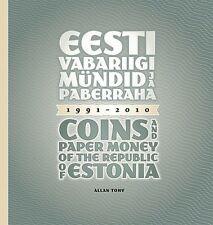 BOOK ESTONIA  - Coins and paper money of the Republic of Estonia 1991-2010