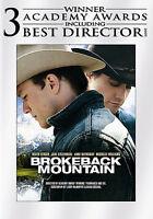 Brokeback Mountain (Widescreen Edition) [DVD] [2005] NEW!