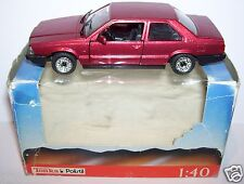 ORIGINAL RARE POLISTIL TONKA ITALY VOLVO 780 COUPE ROUGE METAL REF 5308 IN BOX