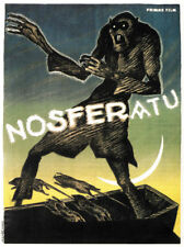 F.W. Murnau Nosferatu 1922 horror movie poster print